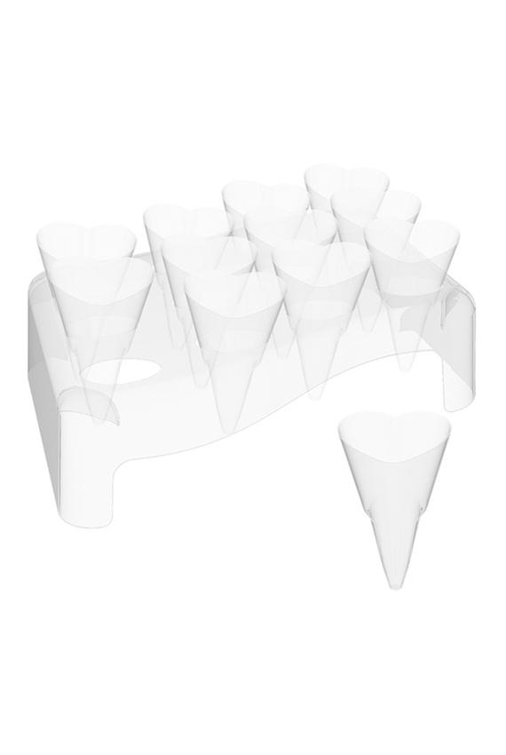 kit de 5 supports 60 c nes c ur abc emballuxe. Black Bedroom Furniture Sets. Home Design Ideas