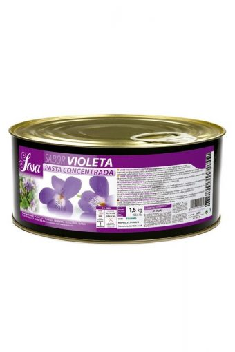 Violette en pâte concentrée