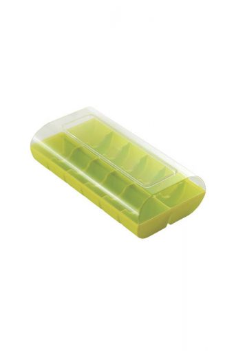 Boite vert fluo 12 macarons - Macado