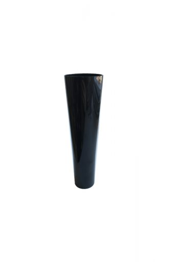 Verrine tube long noire