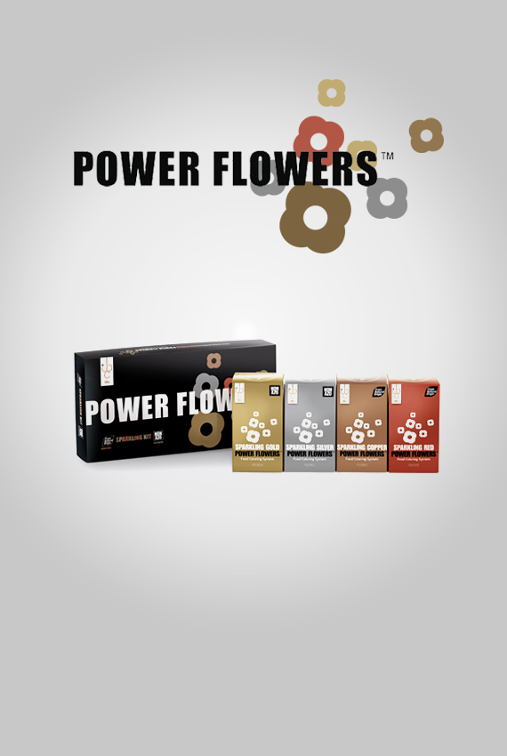 power flower sparkling kit