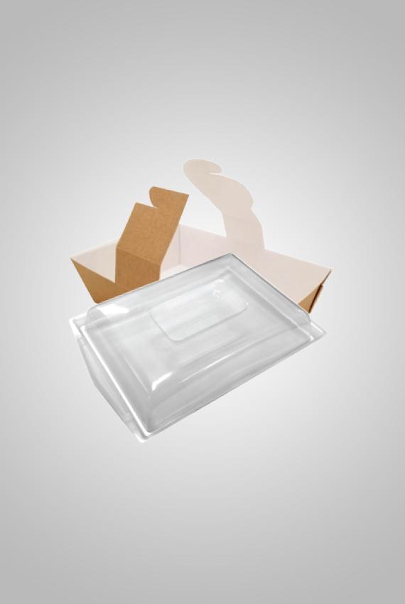 boite lunch kraft avec fen tre couvercle micro onde kraft lunch box microwave cover safe. Black Bedroom Furniture Sets. Home Design Ideas