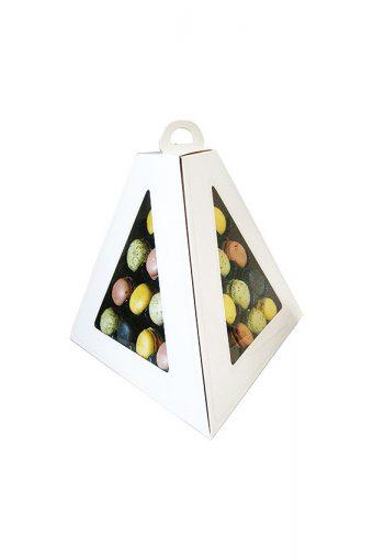 Pyramide de transport 30 macarons